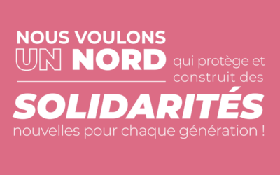 Michelle Gréaume partage avec nous les engagements de Nord en Commun